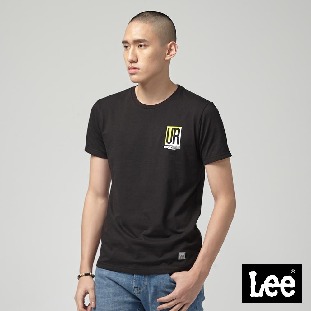 Lee UR短袖圓領TEE/UR-黑
