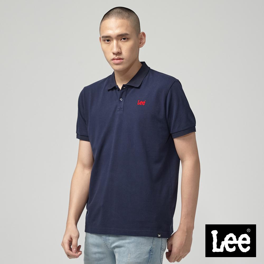 Lee 短袖小LOGOPOLO衫/RG-丈青