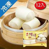 義美牛奶饅頭6粒 80GX12