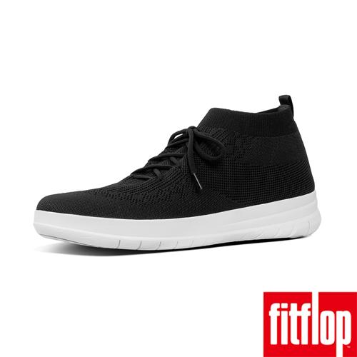 【FitFlop】UBERKNIT SLIP-ON LACE-UP SNEAKERS 黑色