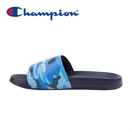 【Champion】Camouflage Cloud 中性迷彩運動拖鞋