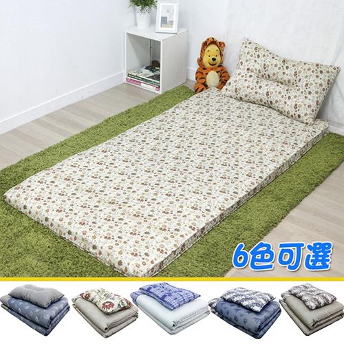 【KOTAS】 冬夏透氣床墊 單人 3尺送記憶枕1顆 單人床墊--(六色)
