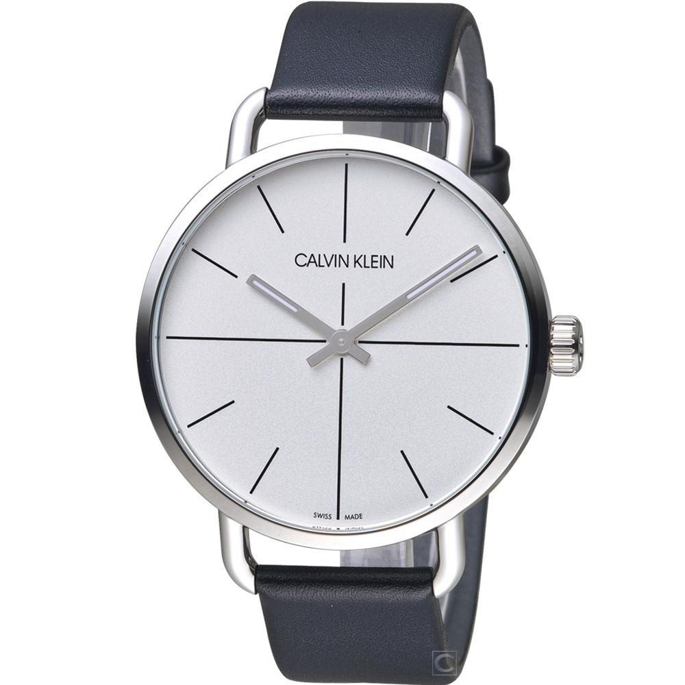 Calvin Klein 超然時尚腕錶 K7B211CY/42mm
