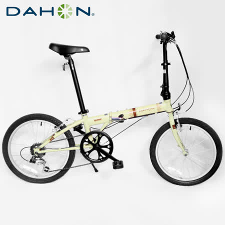 DAHON大行 Speed D6 20吋6速鉻鉬鋼折疊單車
