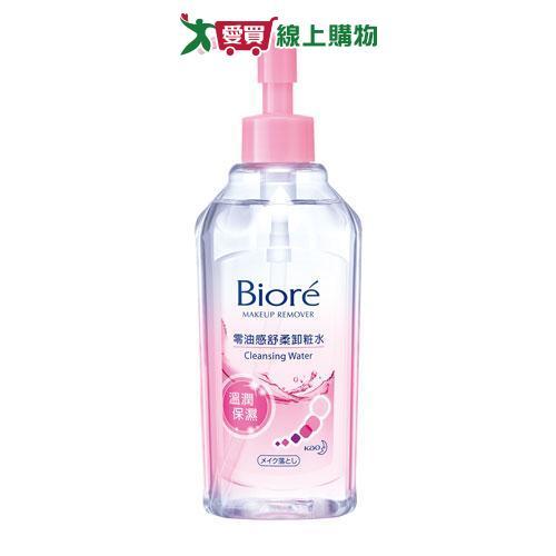 Biore蜜妮零油感舒柔卸妝水-溫潤保濕型300ml