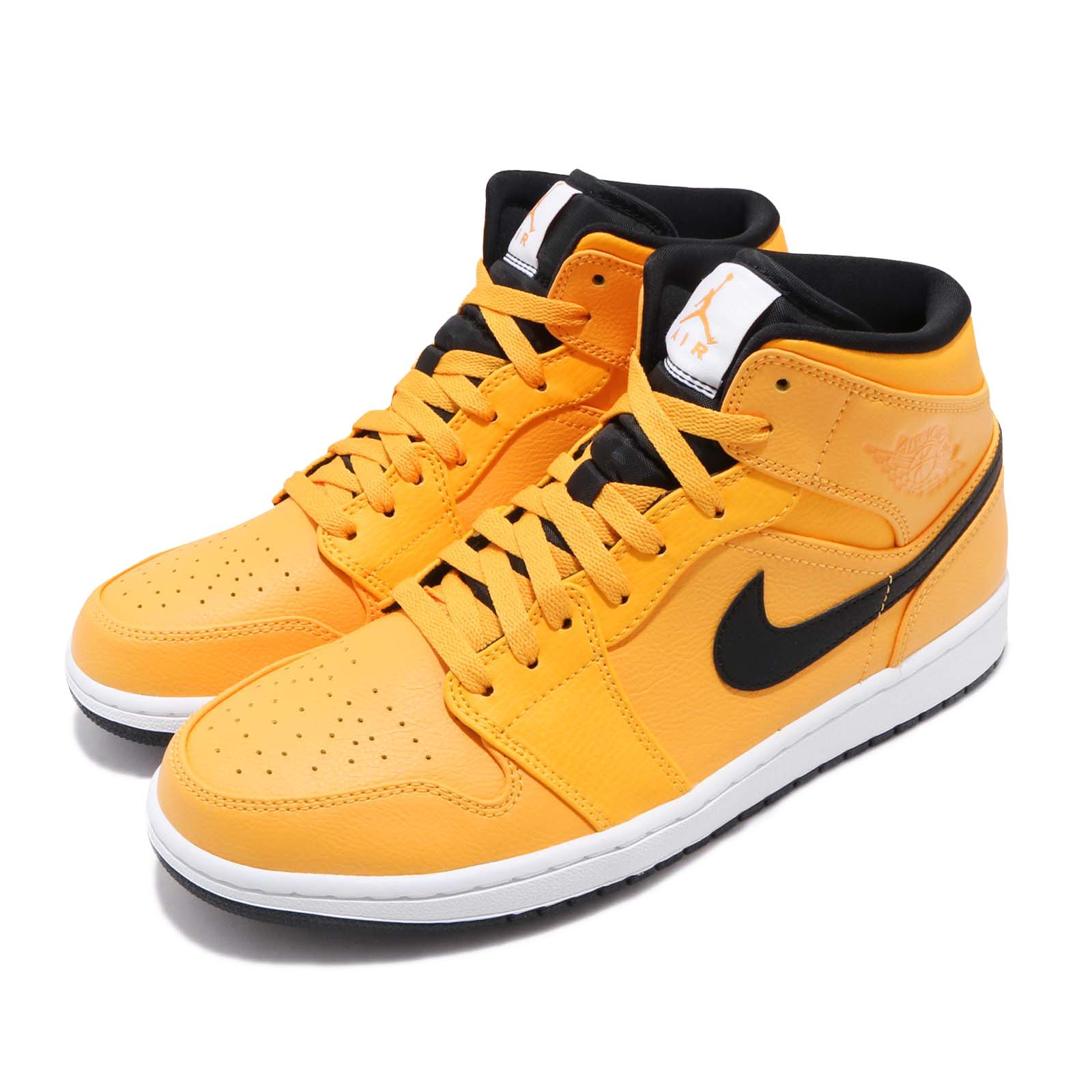 Nike 籃球鞋 Air Jordan 1 MID 男鞋 554724-700