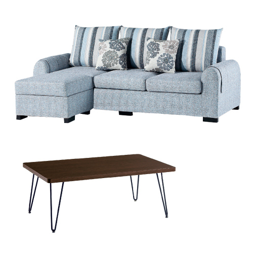 AS-傑羅三人休閒沙發含腳椅-214*153*69cm(買就送茶几)