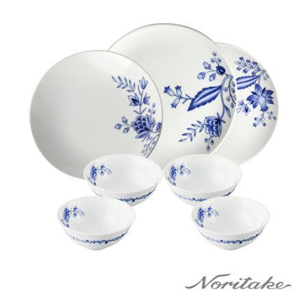 日本NORITAKE 香格里拉餐盤碗7件組