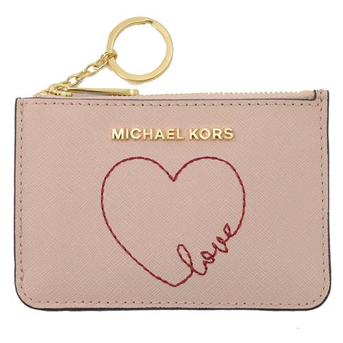 MICHAEL KORS GIFTABLES 愛心鑰匙環零錢包.芭蕾粉