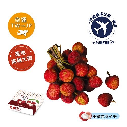 [預購]2020 空運《TW台灣→JP日本》玉荷包荔枝(玉荷包ライチ)3kg