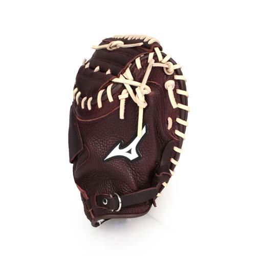 MIZUNO 棒球捕手手套-右投  棒球 壘球 美津濃 深咖啡棕 F