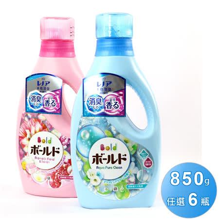 日本BOLD 香水柔軟洗衣精6入