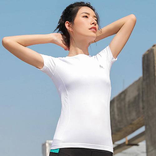 【KISSDIAMOND】超清涼貼身透膚運動上衣-064(短袖/T恤/吸濕/排汗/修身/顯瘦/4色S-L可選)