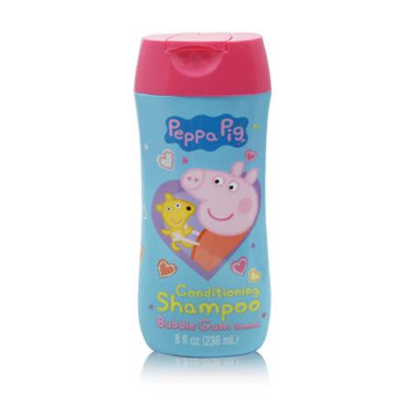 Peppa pig卡通雙效洗髮精 8oz