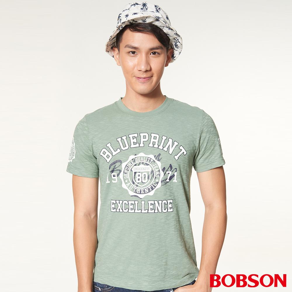 BOBSON男款印圖上衣(27025-48)