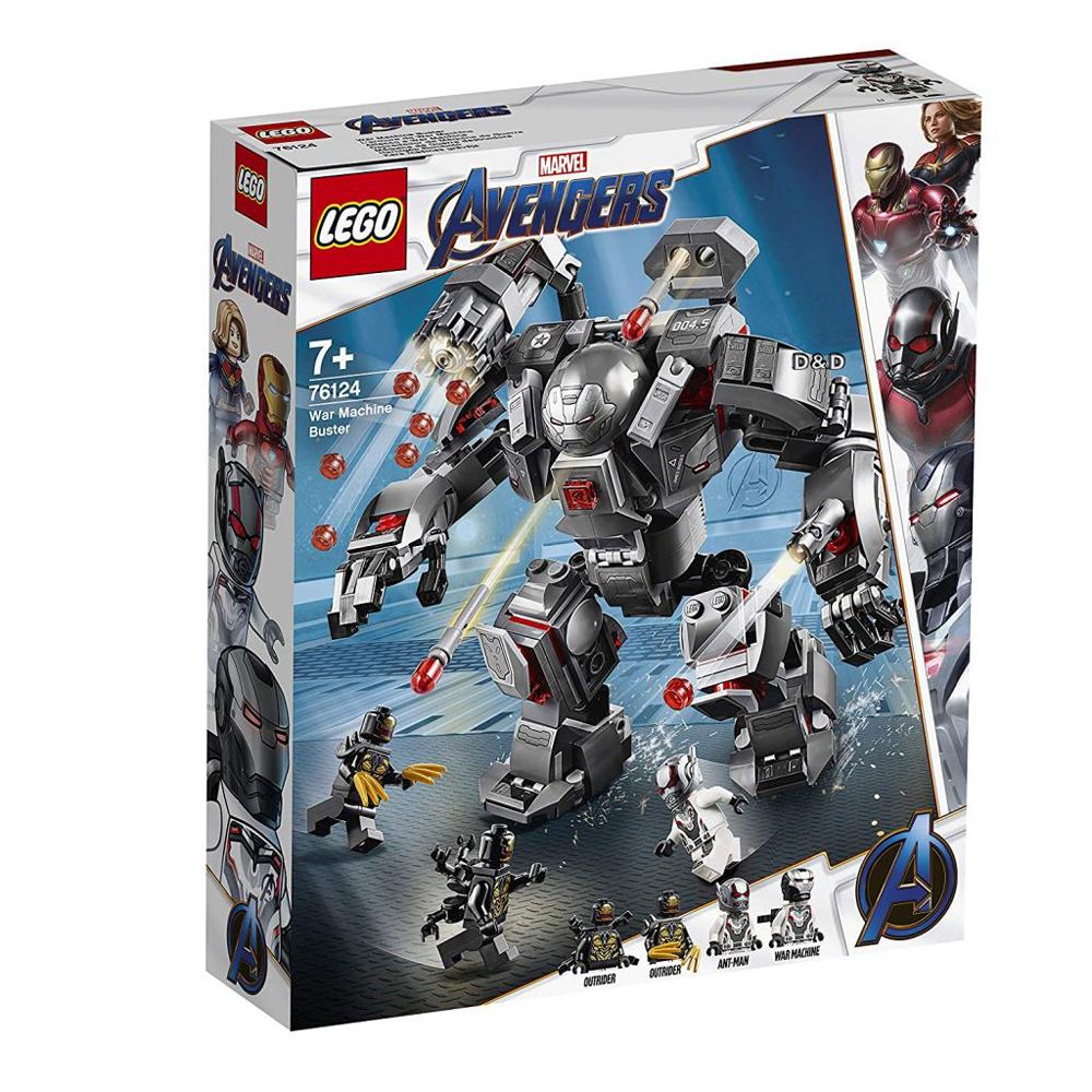 樂高積木 LEGO《 LT76124 》SUPER HEROES 超級英雄系列 - War Machine Buster
