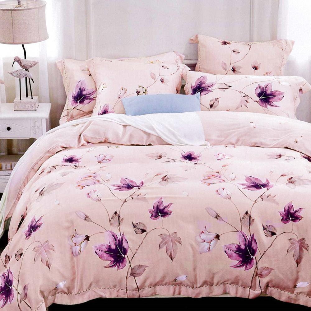 Lily Royal 天絲 瑟琳娜粉 雙人六件式兩用被床罩組