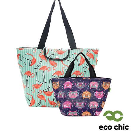 英國ECO CHIC 折疊收納保冷袋2件組