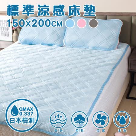 樂嫚妮 涼感纖維 床枕墊組-雙人