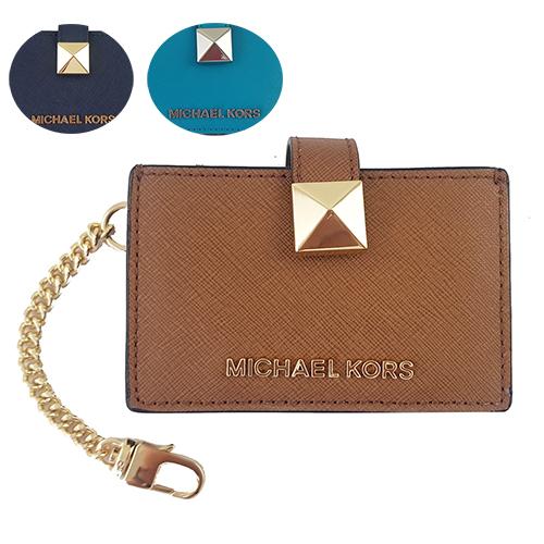MICHAEL KORS 防刮皮革風琴式卡夾 名片夾零錢包 35S9GKGD1L