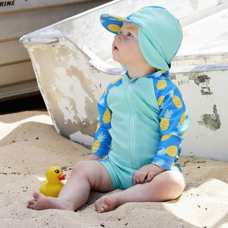 澳洲 RASHOODZ  兒童抗UV防曬連身泳衣