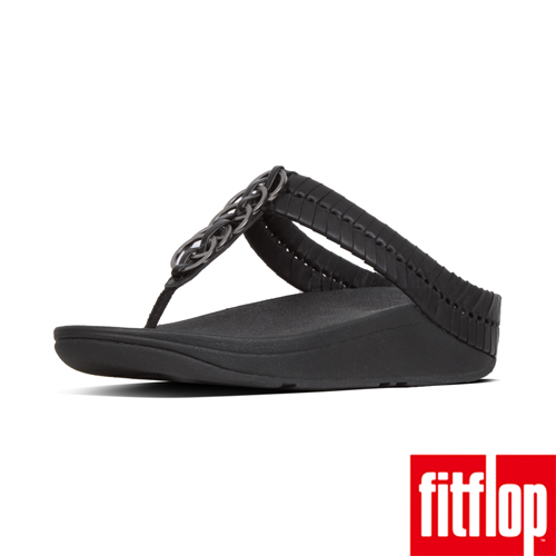 【FitFlop】CIRQUE TOE-THONGS 黑色