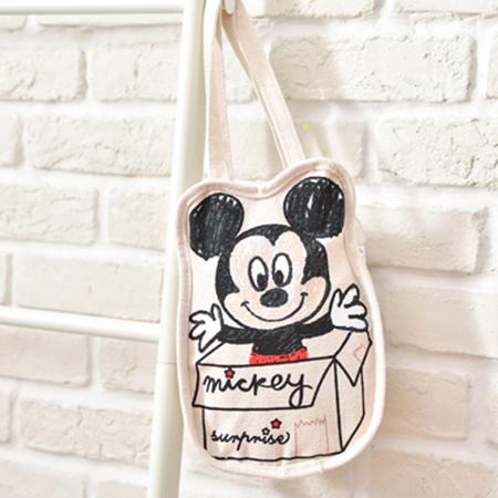 迪士尼圖繪帆布水壺紙箱米妮