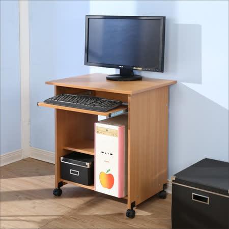BuyJM  簡約附輪寬60電腦桌