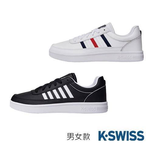 【K-SWISS】男女款 Court Clayton休閒運動鞋