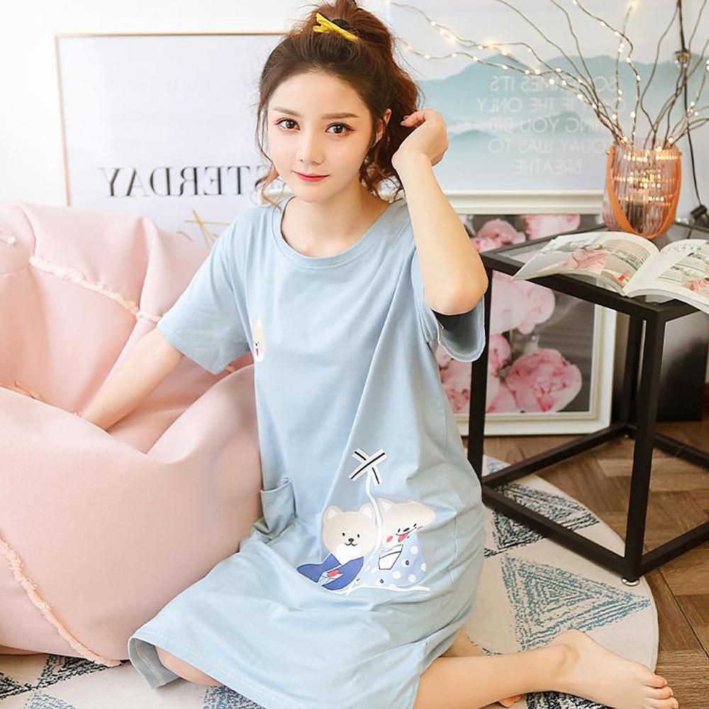 Wonderland 日本柴犬棉質睡衣洋裝