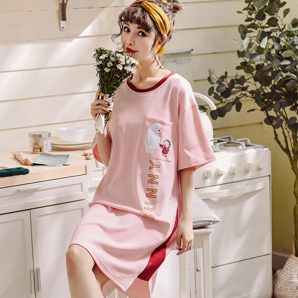 Wonderland SUNNY DAY 100%棉睡衣洋裝