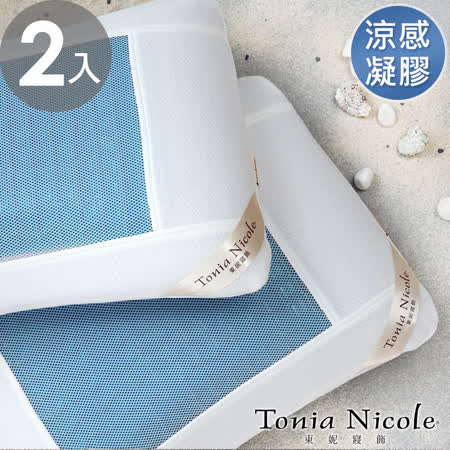 【Tonia Nicole東妮寢飾】涼夏凝膠枕(2入)