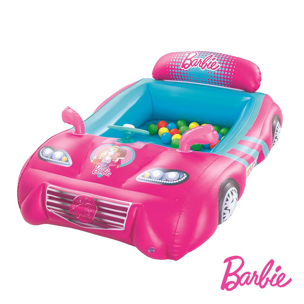 《購犀利》Barbie。芭比娃娃跑車球池(附25顆球)
