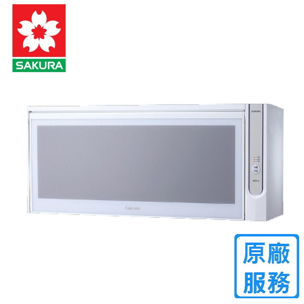 【櫻花】Q-7565AWXL 懸掛式 殺菌烘碗機 (90CM)