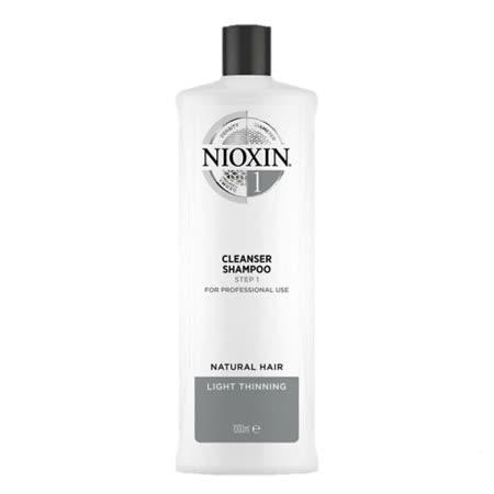 NIOXIN 3D 賦活 潔淨露1號洗髮精1000ml