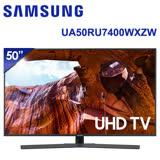 【SAMSUNG三星】50吋4K UHD Smart純晶透顯色電視UA50RU7400WXZW(含運無安裝)★加碼贈Panasonic神級吹風機EH-NE57