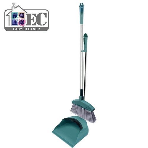 家簡塵除 家簡塵除易淨掃掃把畚斗組 掃把刷毛*1 掃把桿*1 畚斗座*1 畚斗桿*1