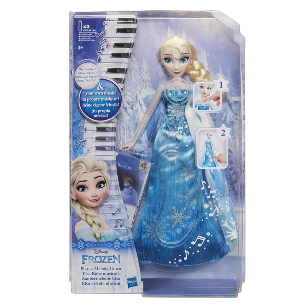 《 Disney 迪士尼 》冰雪奇緣 - 艾莎音樂斗篷遊戲組