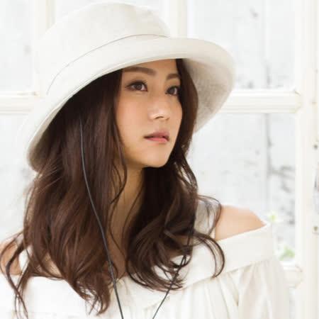 日本QUEENHEAD 可塑型法式風情防曬帽
