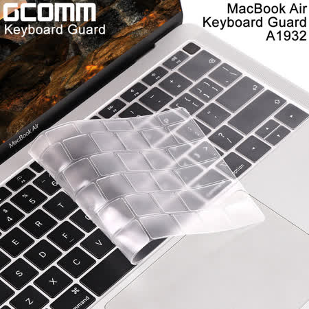 GCOMM Apple MacBook Air 2018 13吋 A1932 鍵盤保護膜