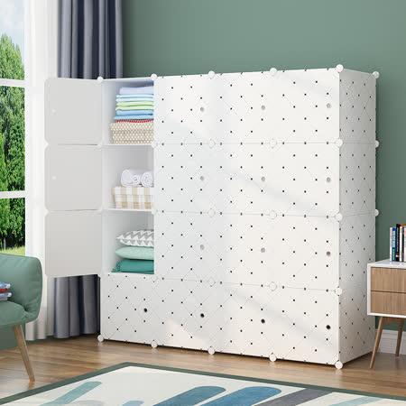 Mr.Box 16格16門組合衣櫥櫃