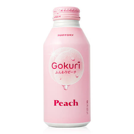 【Suntory三得利】Gokuri白桃風味飲料400ml