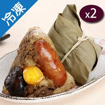 亨記-古早味  香腸肉粽6粒/包X2
