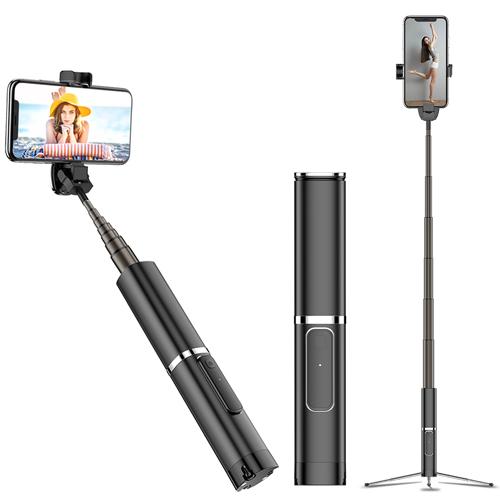 幻影 手機藍牙自拍棒 一體式三腳架 時尚高質感鋁合金外殼 藍芽自拍伸縮棒 360度自由旋轉 NCC認證