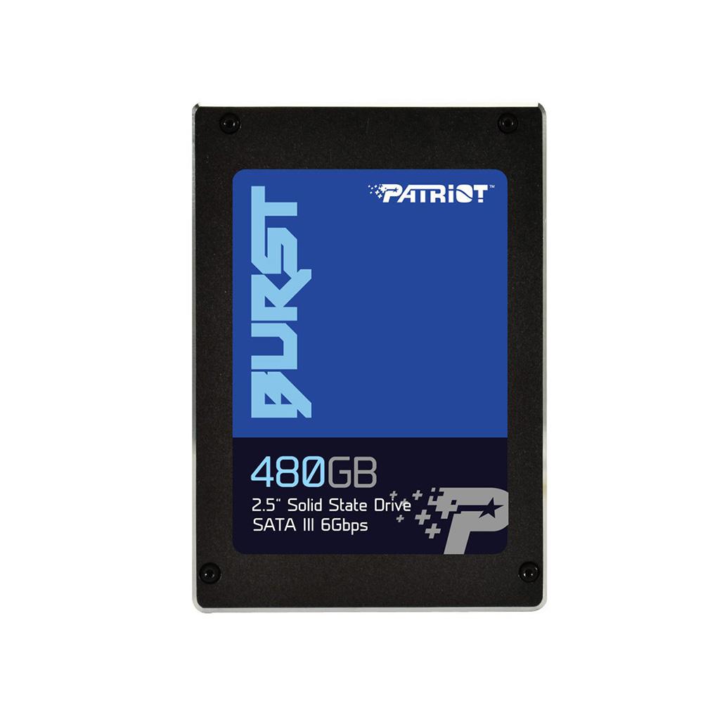 Patriot美商博帝 BURST 480G 2.5吋 SSD固態硬碟