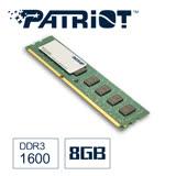 Patriot美商博帝 DDR3 1600 8GB桌上型記憶體