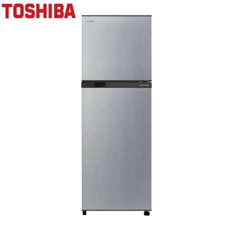 | TOSHIBA  |  東芝 231公升1級 變頻無邊框電冰箱典雅銀 GR-A28TS