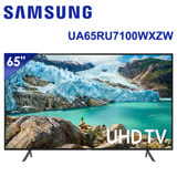 SAMSUNG三星 65吋 4K 智慧連網液晶電視(UA65RU7100WXZW) * 送基本安裝+三洋空氣清淨機+OVO藍芽耳機