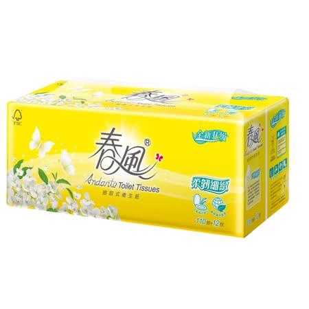 《春風》抽取衛生紙110抽*72包