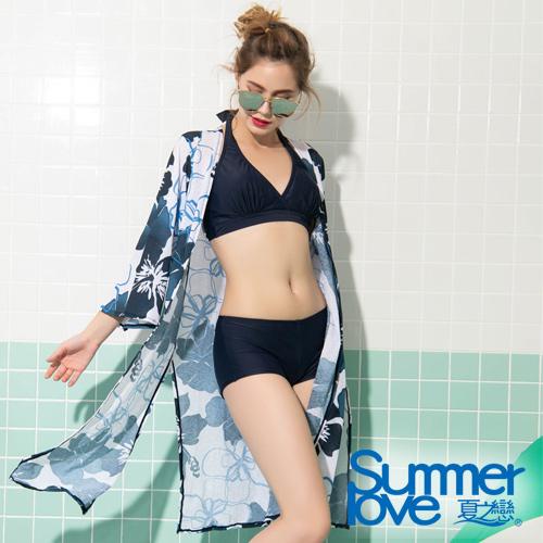 【夏之戀SUMMERLOVE】大女比基尼三件式泳裝S19703